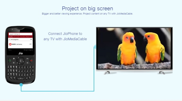 Jio-Phone-2-Project-on-big-screen