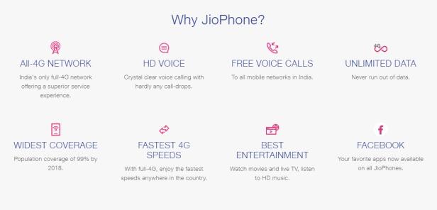 Why JioPhone 2